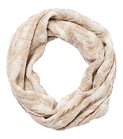 Calvin Klein Plaited Cable Infinity Scarf
