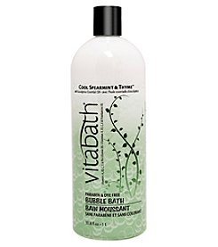 Vitabath Cool Spearmint And Thyme Bubble Bath