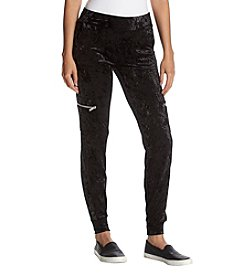 Warrior by Danica Patrick Velvet Jogger Pants