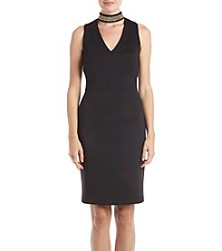 Calvin Klein Stud Collar Gigi Dress