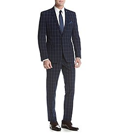 Nick Graham Men's Windowpane Suit