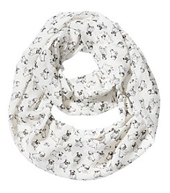Collection 18 Pug Pattern Loop Scarf