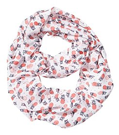Collection 18 Pineapple Infinity Loop Scarf