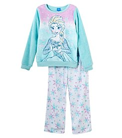 Disney Girls' 6-10 Retro Elsa Pajamas