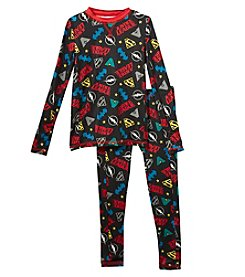 Climatesmart Boys' 4-12 Justice League Long Underwear