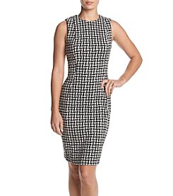 Calvin Klein Jacquard Print Dress