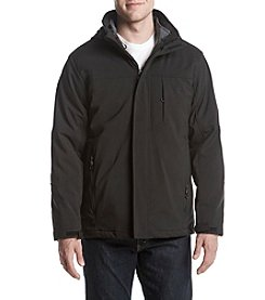 IZOD Men's Solid Softshell Jacket