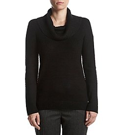 Calvin Klein Ribbed Cowlneck Sweater