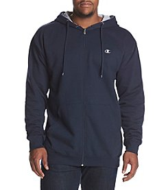 Champion Men's Big & Tall Full Zip Fleece Jacket