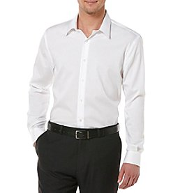 Perry Ellis Men's Big & Tall Long Sleeve Twill Button Down