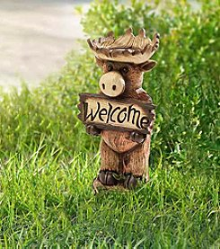 Sunjoy Welcome Moose Statue