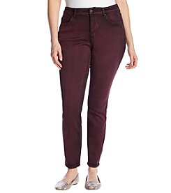 Vintage America Blues Plus Size Colored Skinny Jeans