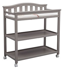 Delta Children Bell Top Changing Table with Rolling Casters