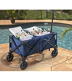 Sunjoy Wheeled Collapsible Beverage Cooler
