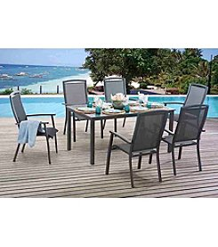 Sunjoy Sierra 7-Piece Outdoor Dining Set