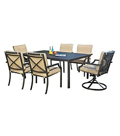 Sunjoy Cald 7-Piece Outdoor Dining Set