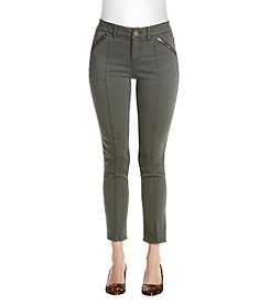 Relativity Zip Pocket Ankle Pants