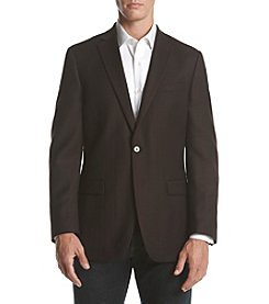 Calvin Klein Men's Herringbone Slim Fit Sport Coat