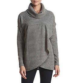 Chelsea & Theodore Long Sleeve Dolman Cowl Neck Top