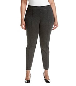 Kasper Plus Size Ponte Pants