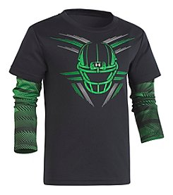 Under Armour Boys' 2T-4T Speedlines Helmet Slider Tee