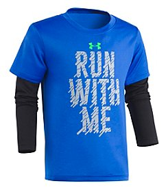 Under Armour Boys' 2T-4T Run with me Tee