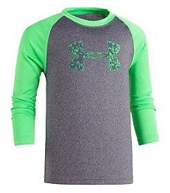 Under Armour Boys' 2T-7  Digital City Big Logo Raglan Tee