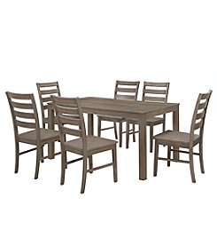 W. Designs Homestead 7-Piece Wood Dining Set