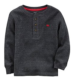 Carter's Boys' 2T-4T Long Sleeve Henley Top