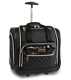 bebe Leena Wheeled Under-the-Seat Carry-On Bag