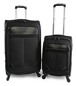 Perry Ellis Tribute 2-Piece Spinner Suitcase Set