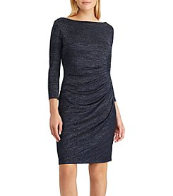 Chaps Solange Metallic Knit Dress