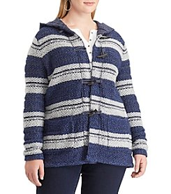 Chaps Plus Size Sweater Jacquard