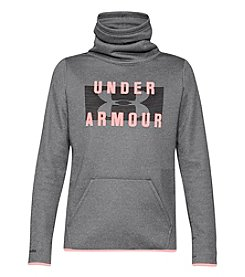 Under Armour Women's Storm Fleece Funnel Neck Graphic Pullover