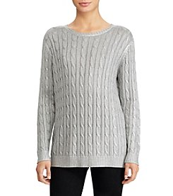 Lauren Ralph Lauren Cable Crew Neck Sweater