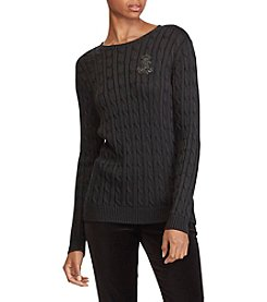 Lauren Ralph Lauren Long Sleeve Crew Neck Tee