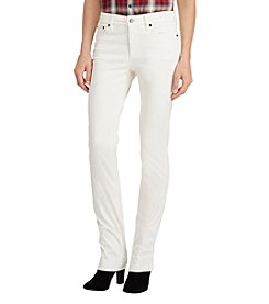 Lauren Ralph Lauren Straight Leg Pants