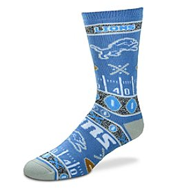 For Bare Feet NFL® Detroit Lions Men's Graphic Crew Socks