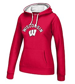J. America NCAA® Wisconsin Badgers Women's Essential Hoodie