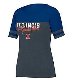 J. America NCAA® Illinois FIghtint Illini Women's Stadium Tee