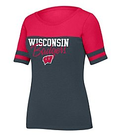 J. America NCAA® Wisconsin Badgers Women's Stadium Tee