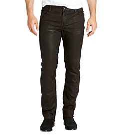 William Rast Men's Dean Slim Straight Twill Jeans