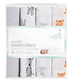 Aden & Anais Baby Assorted Swaddle 4 Pack