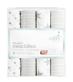 Aden & Anais Baby Swaddle 4 Pack