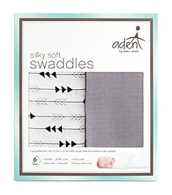 Aden & Anais Baby Silky Soft Swaddle 2 Pack