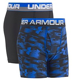 Under Armour Boys' 8-20 2-Pack Blur Boxerjock® Briefs