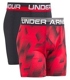 Under Armour Boys' 8-20 2-Pack Sandstorm Boxerjock® Briefs