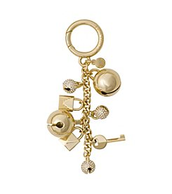 MICHAEL Michael Kors Pave Goldtone Bell Charm Key Chain