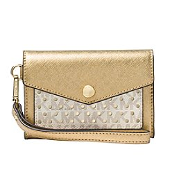 MICHAEL Michael Kors Perforated Logo Wristlet