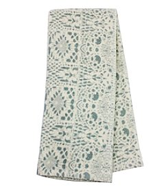 Farmhouse Lace Print Kitchen Towel
